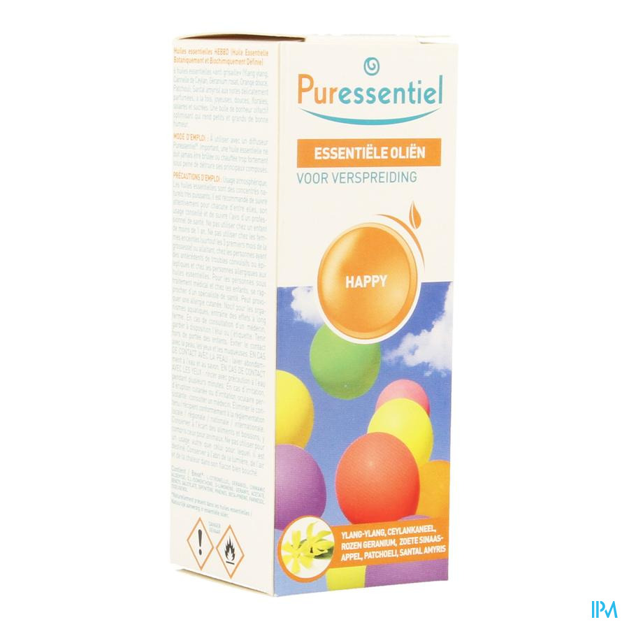 Puressentiel Verstuiving Happy Fl 30ml