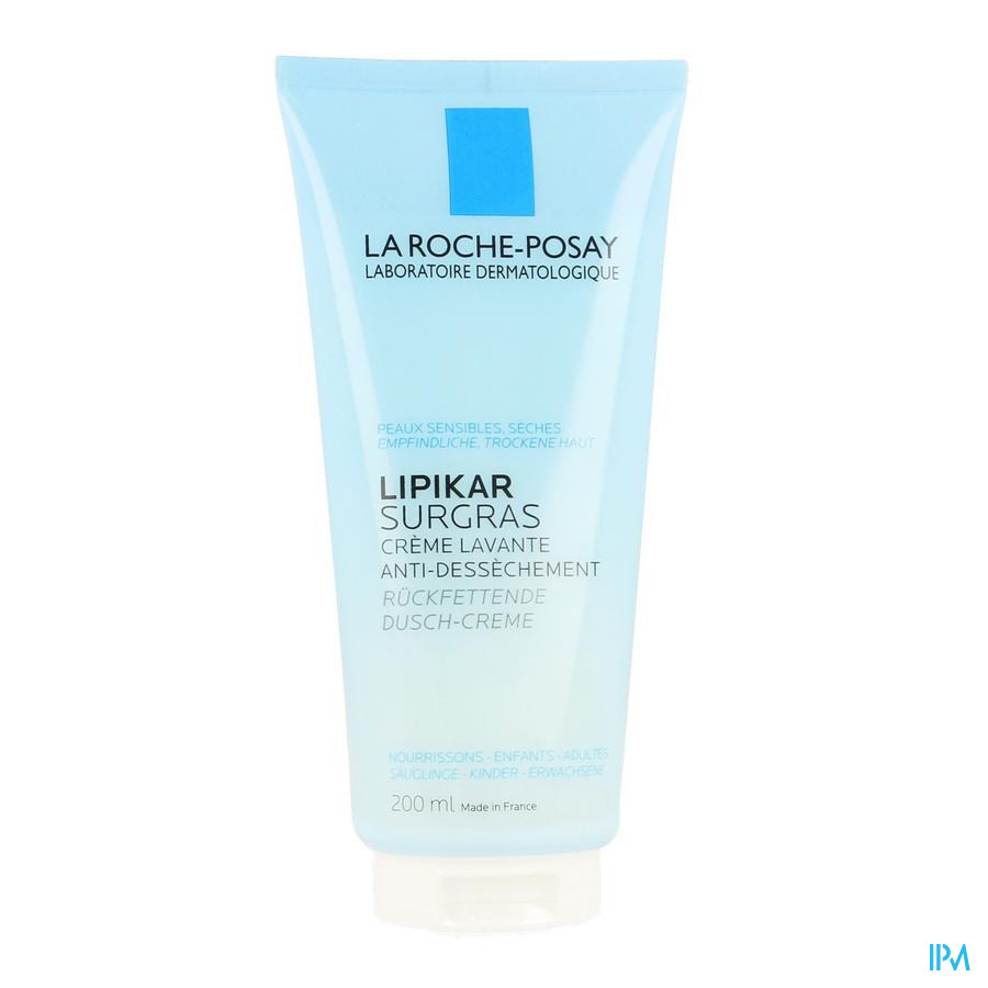 La Roche Posay Lipikar Surgras Douche Cr Conc.a/dessech.200ml