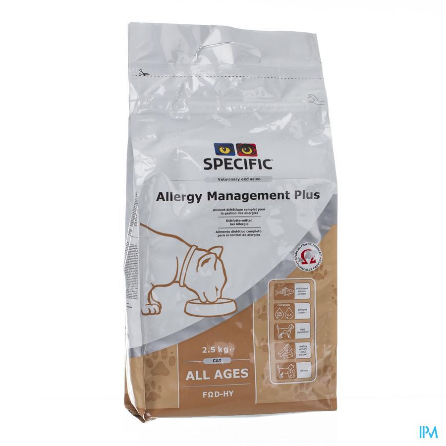 Specific Fod-hy Allergie Management Cat 2,5kg