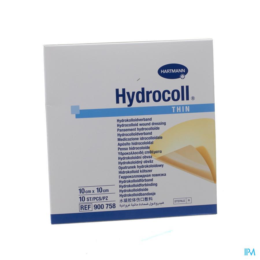 Hydrocoll Thin 10x10cm 10 9007582