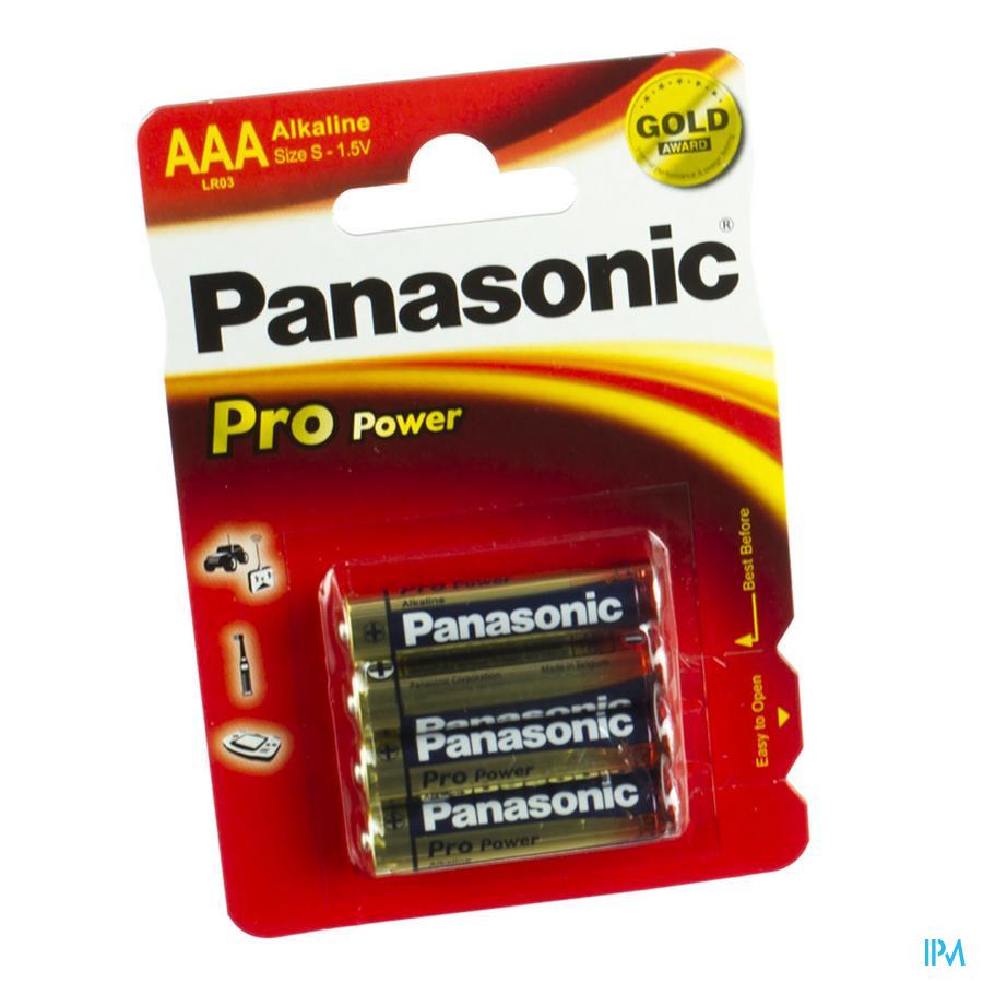 Panasonic Batterij Lr03 1,5v 4