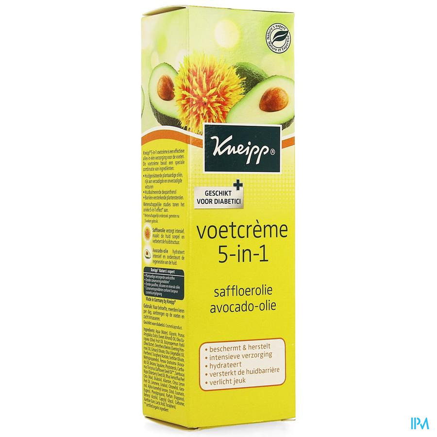 Kneipp Voetcreme 5in1 75ml