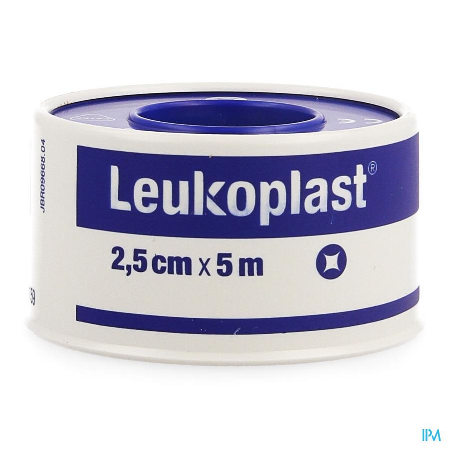 Leukoplast Waterdicht Deksel 2,50cmx5m 1 232200