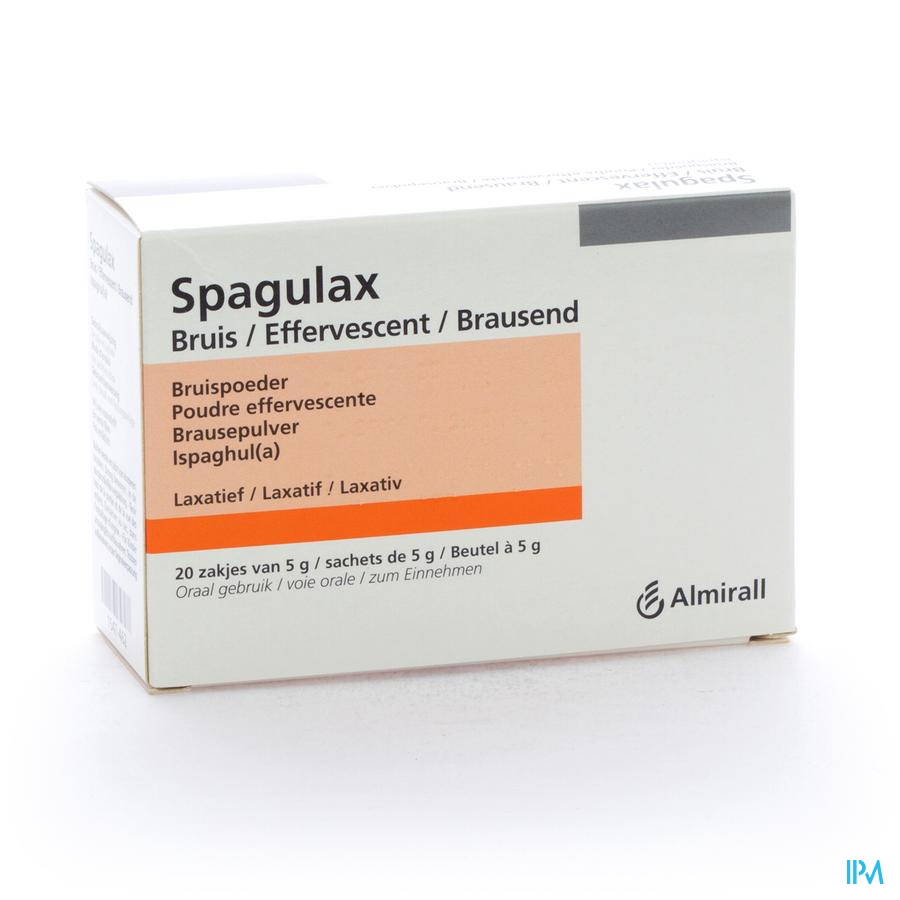 Spagulax Efferv Sachets 20 X 5 gr