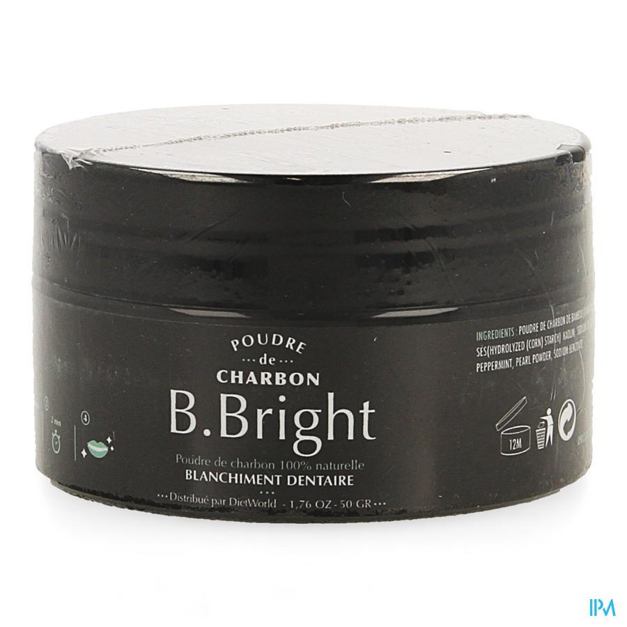 B. Bright Pdr Charbon 50g