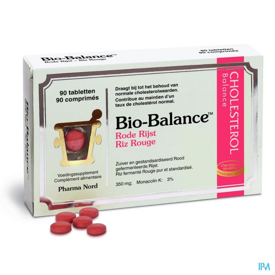 Bio-balance Rode Rijst-riz Rouge Tabl 90