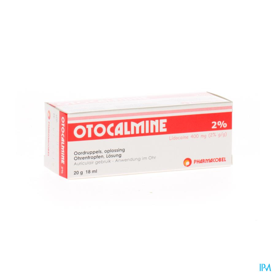 Otocalmine 2 % 18ml