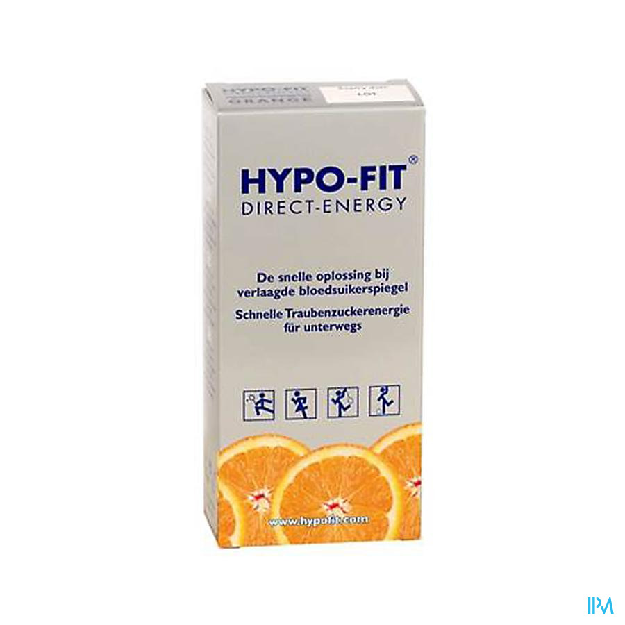 Hypo-fit Direct Energy Orange Sach 12x18g