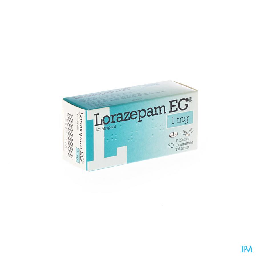 Lorazepam Eg Comp 60x1mg