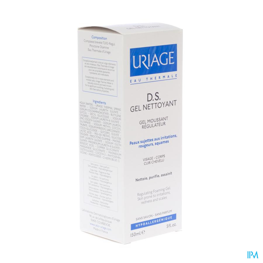 Uriage Ds Reinigingsgel Tube 150ml