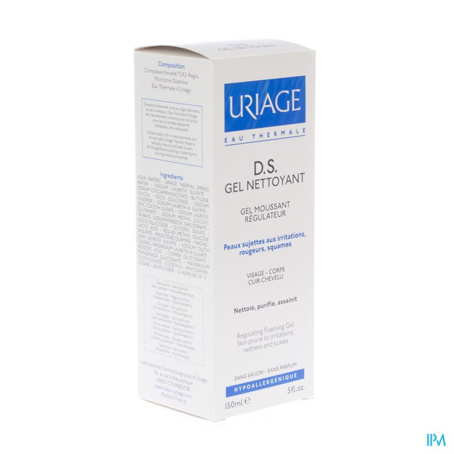 Uriage Ds Gel Nettoyant Tube 150ml