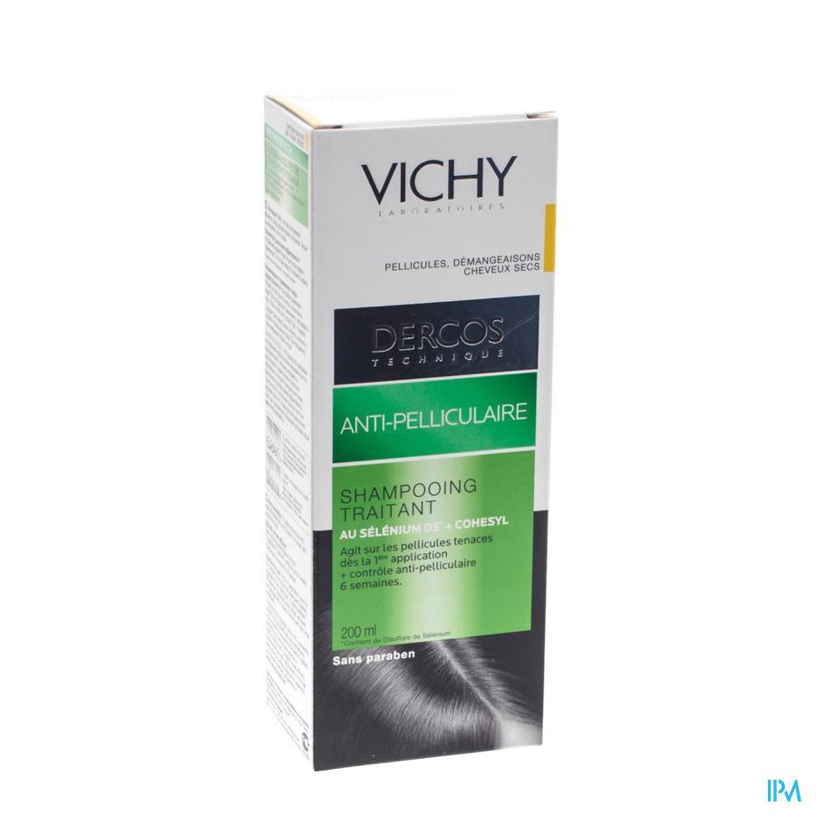 VICHY DERCOS SH A/ROOS DROOG HAAR 200ML