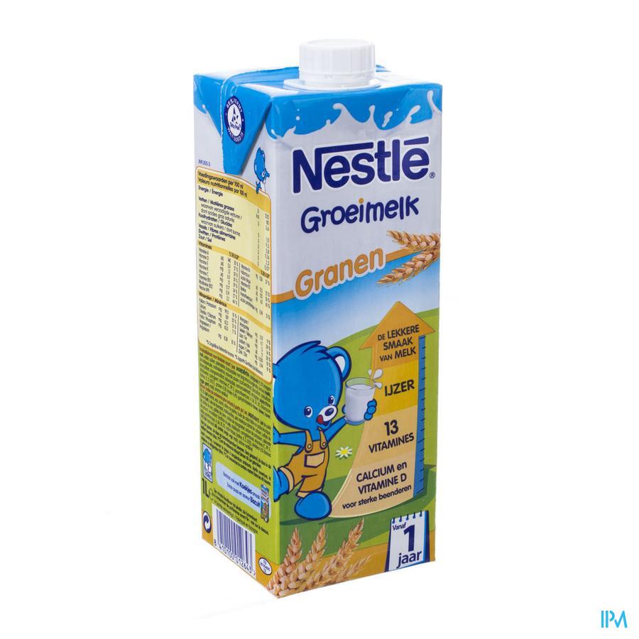 Nestle Lait Croissance Cereales Tetra 1l 1+