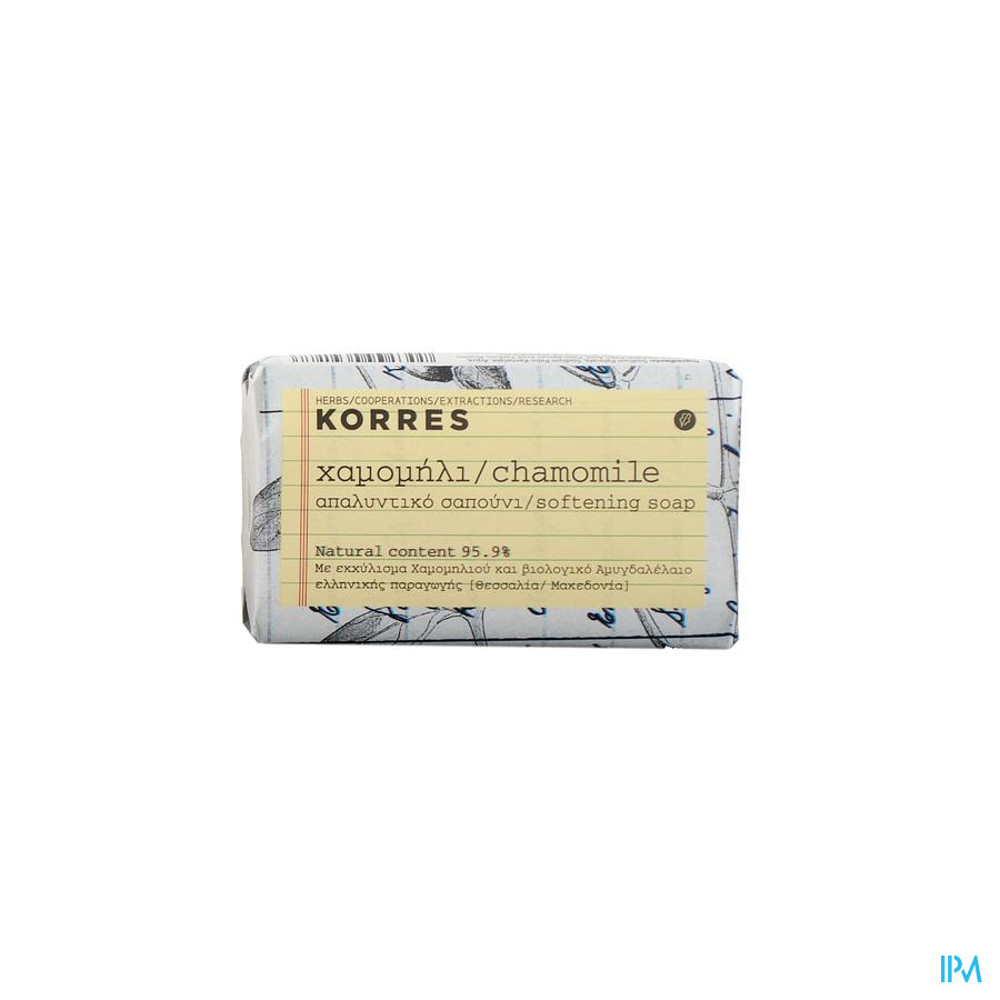 Korres Kf Soap Chamomille 125g