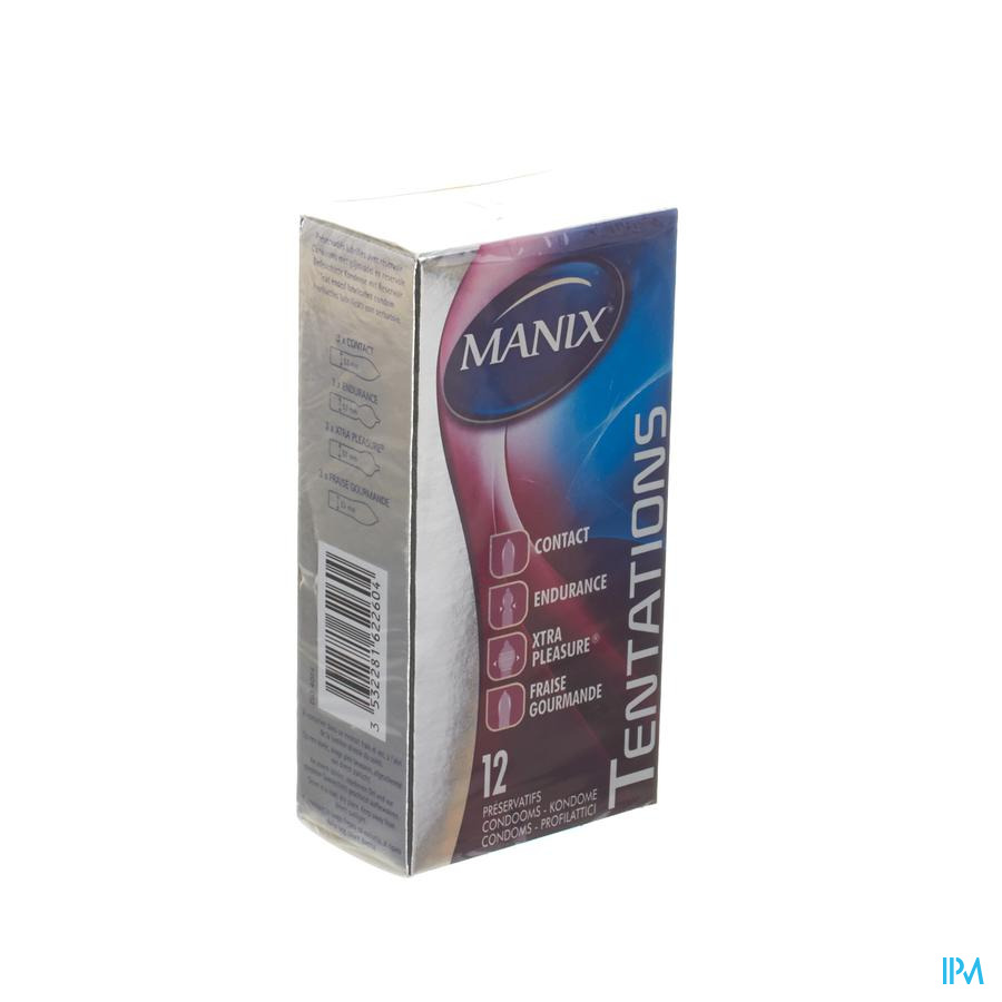 Manix Tentations Preservatifs 12 (mix)