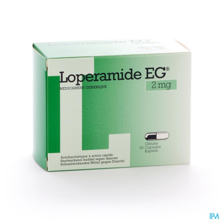 Loperamide Eg Caps 60x2mg