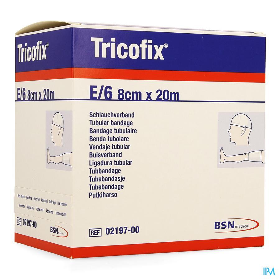 Tricofix E 20m X 6,0-8,0cm 1 219700