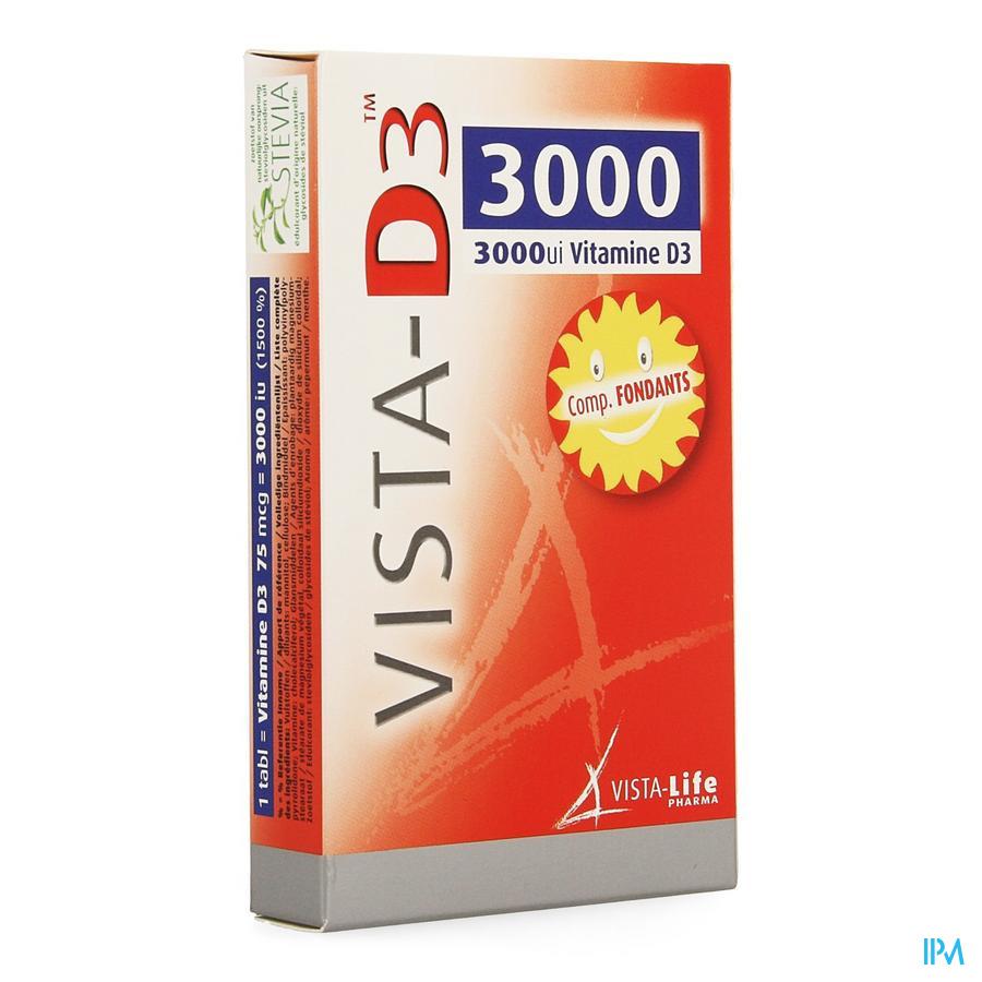 Vista D3 3000 Smelttabl 60