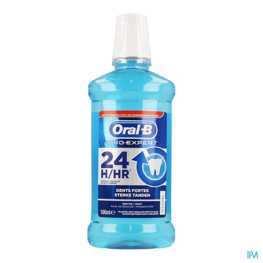 Oral B Pro Expert Dents Forte Bain Bouche 500ml