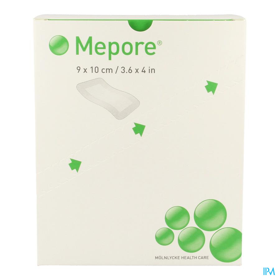 Mepore Cp - Kompres Steriel 9x10cm 50 670900 - Molnlycke Healthcare