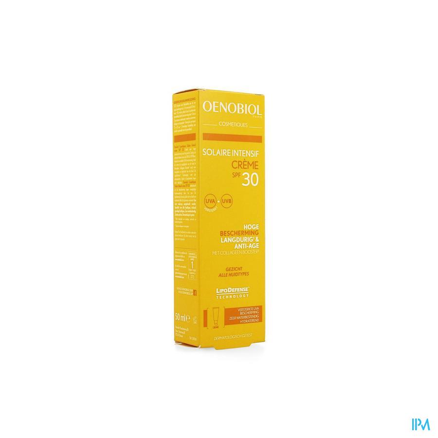 Oenobiol Cosmetiques Sol. Intensif Cr Ip30 50ml
