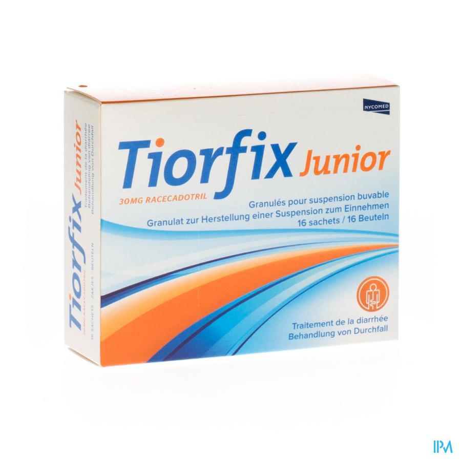 Tiorfix 30mg Junior Granulaat Orale Suspensie 16
