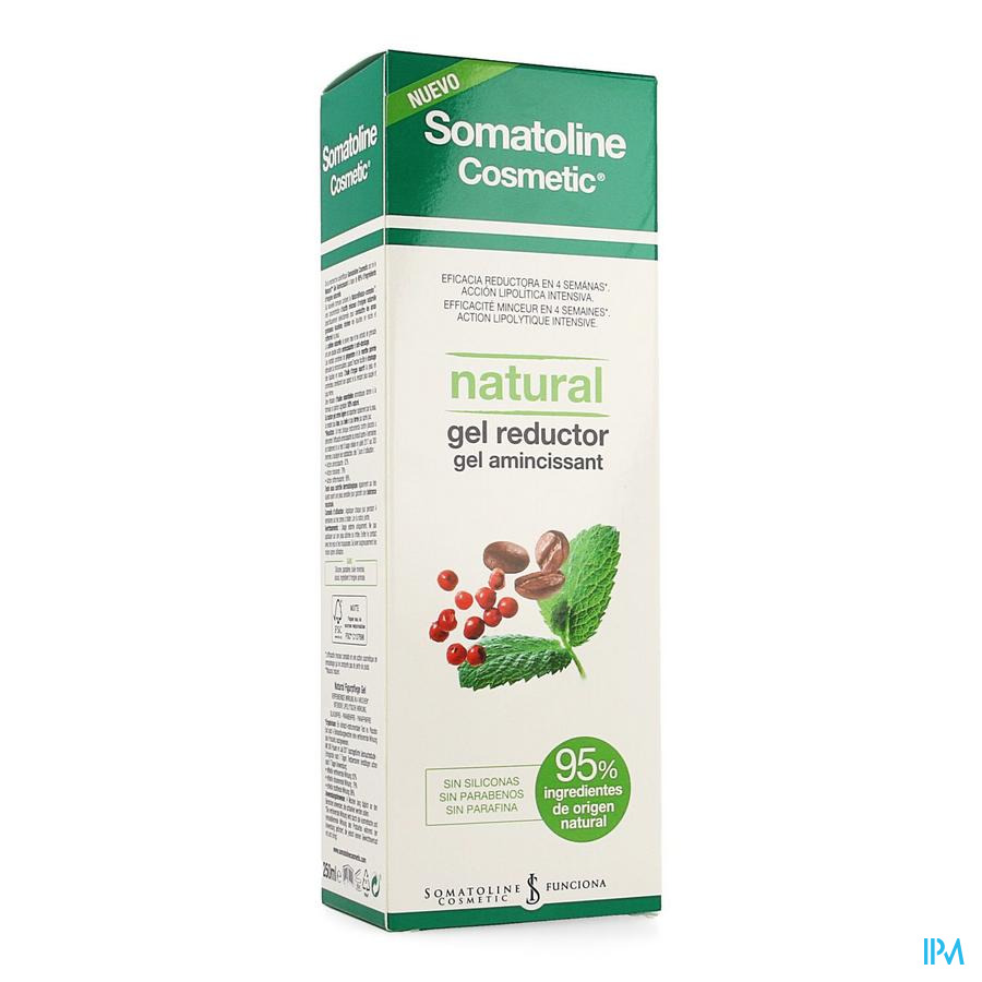 Somatoline Cosm.amincissant Natural Gel 250ml
