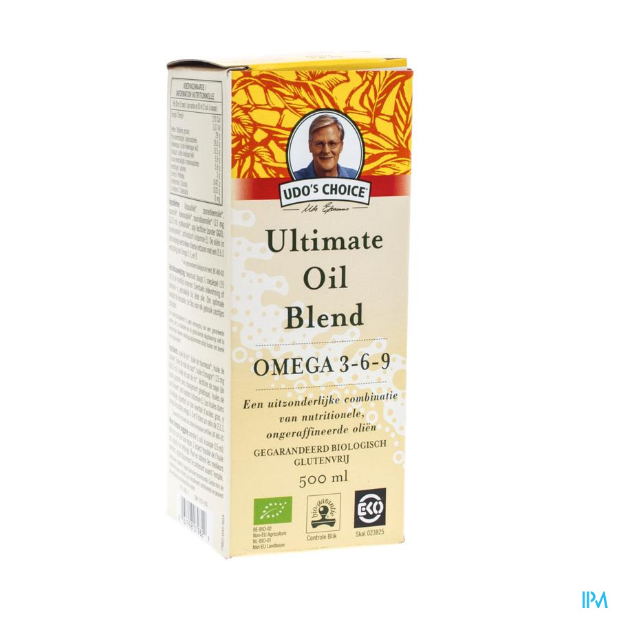 Udo S Choice Ultimate Oil Blend 500 ml