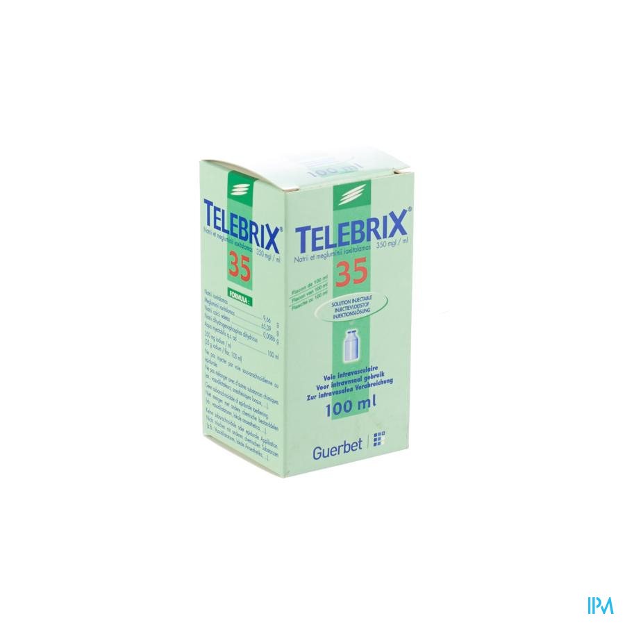 Telebrix 35 Fl Inj 1 X 100ml