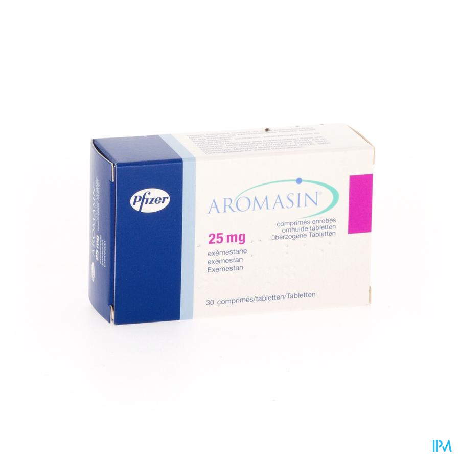 Aromasin 25mg Comp 30 X 25mg
