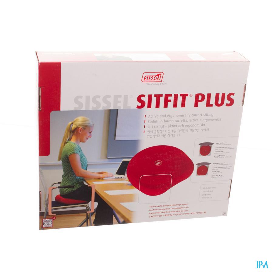 Sissel Sitfit Plus Coussin Ballon Noir + Pompe