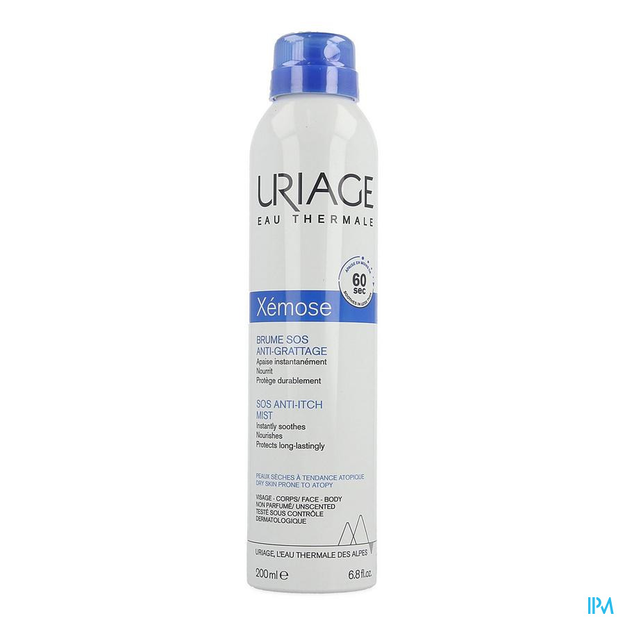Uriage Xemose Brume Sos A/grattage 200ml