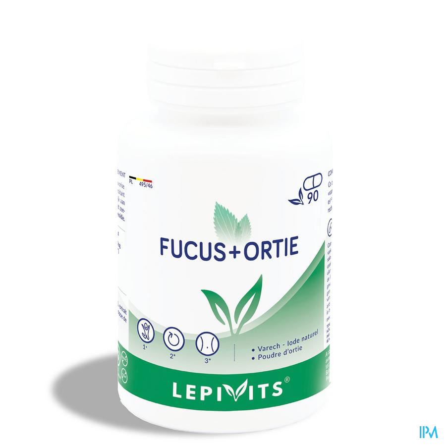 Lepivits Fucus + Ortie Gel 90