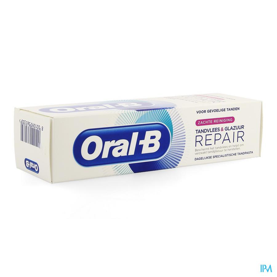 Oral B Tandp. Gum&enamel Repair Gentle Clean 75ml