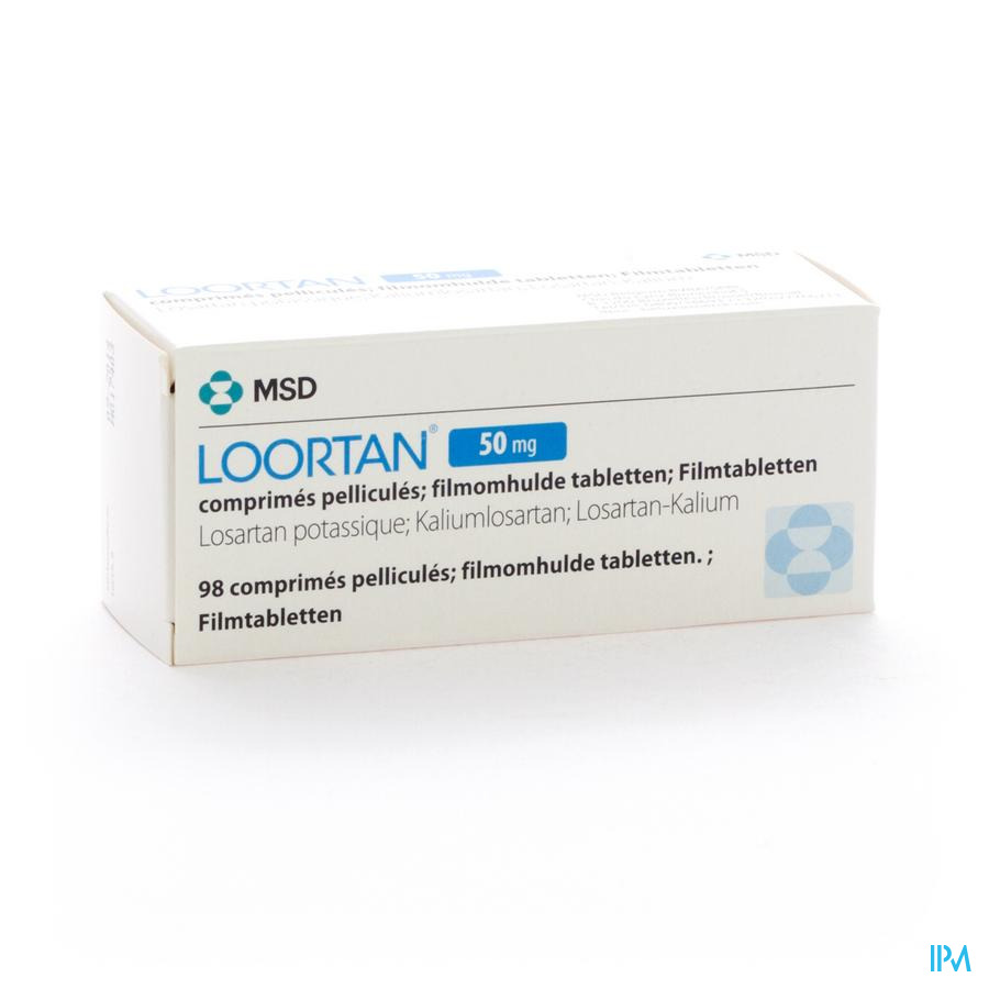 Loortan Comp 98 X 50mg