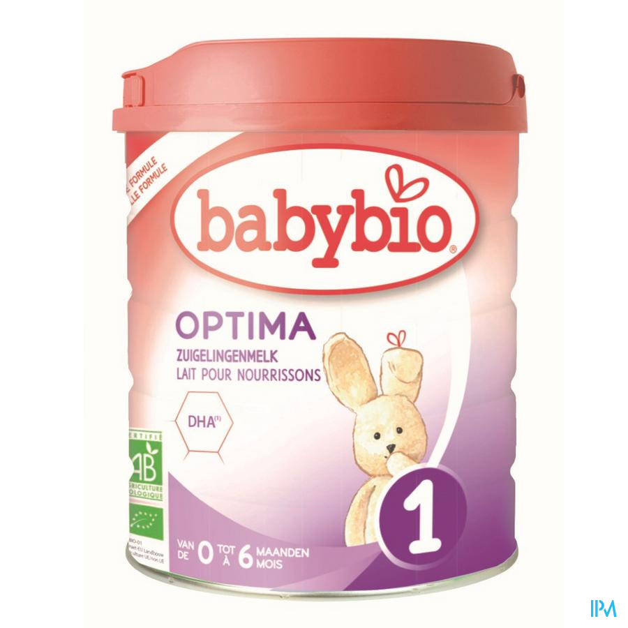 Babybio Optima 1 Zuigelingenmelk 800g