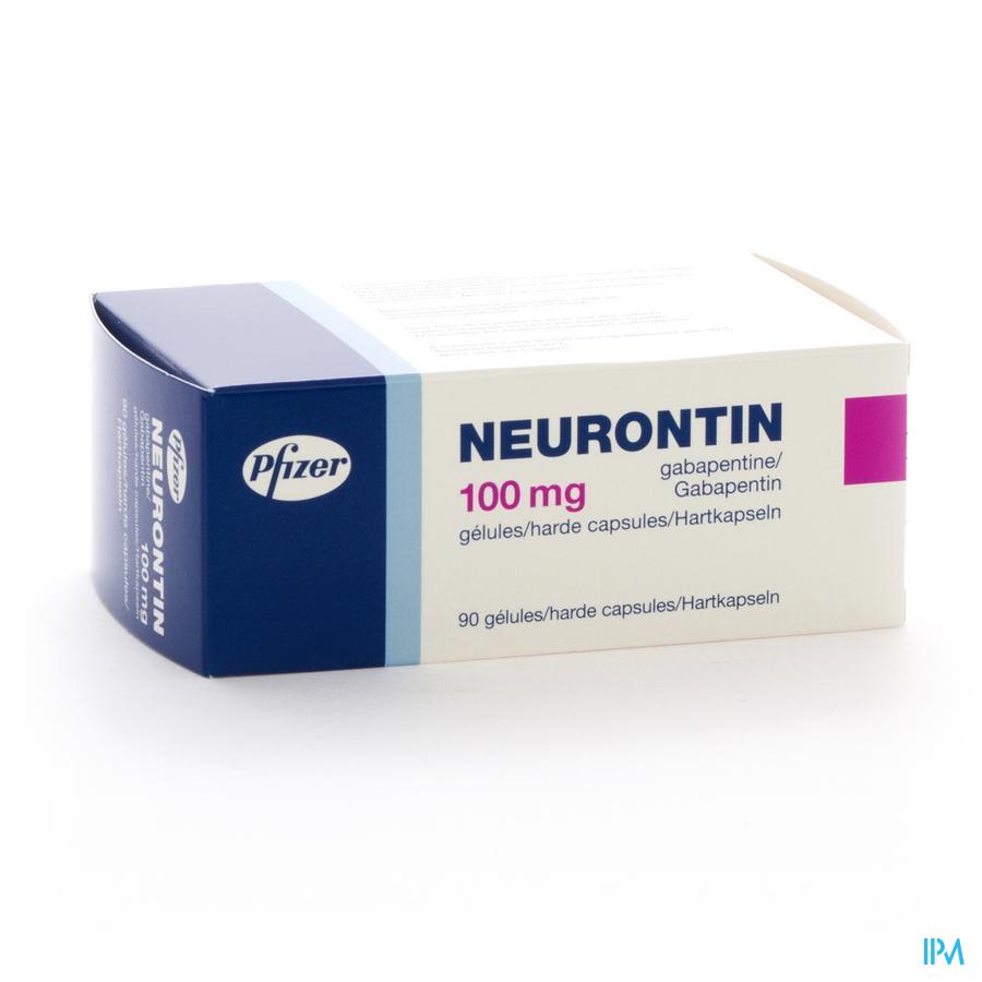 Neurontin Caps 90 X 100mg