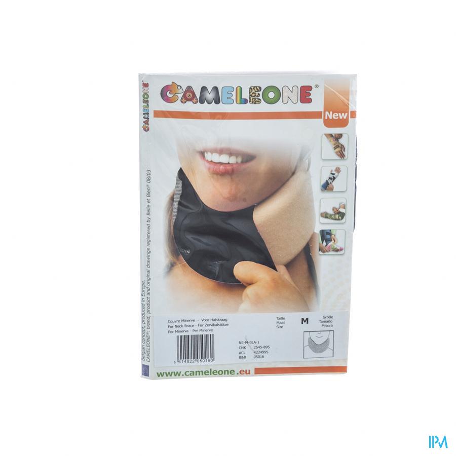 Cameleone Halskraag Zwart M 1 Q05016