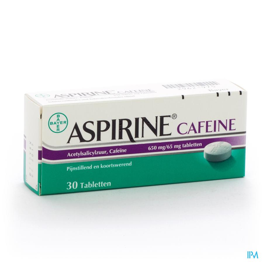 Aspirine Cafeine Tabletten 30