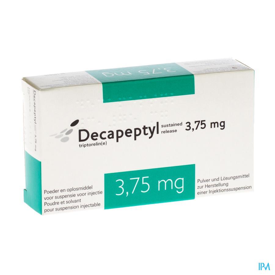 Decapeptyl Sr 3,75mg Fl Lyo Im Sol