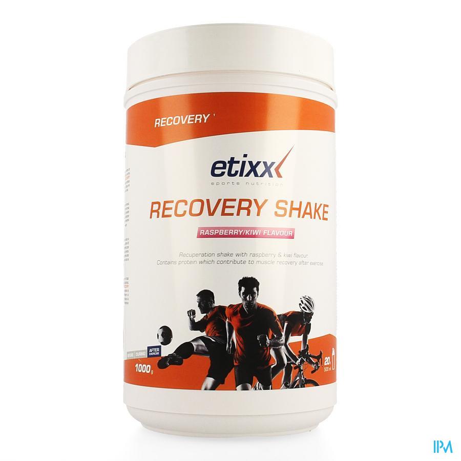 Etixx Recovery Shake Raspberry Kiwi 1000g
