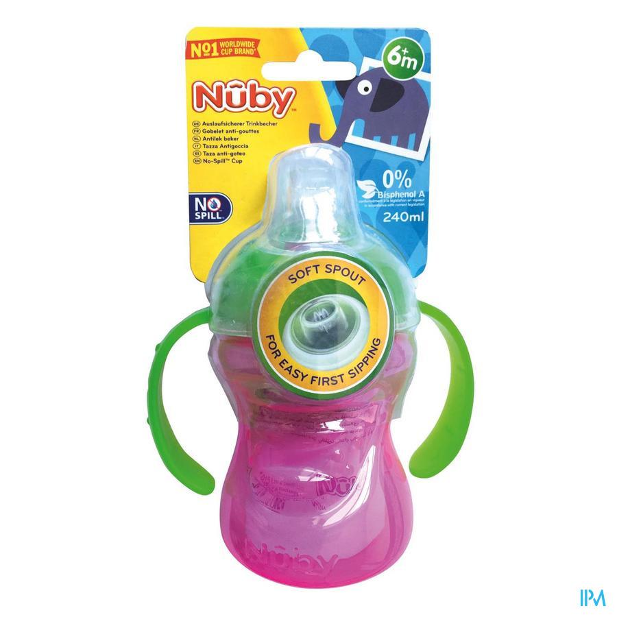Nûby Swirl™ Antilekbeker - 240ml - 6m+