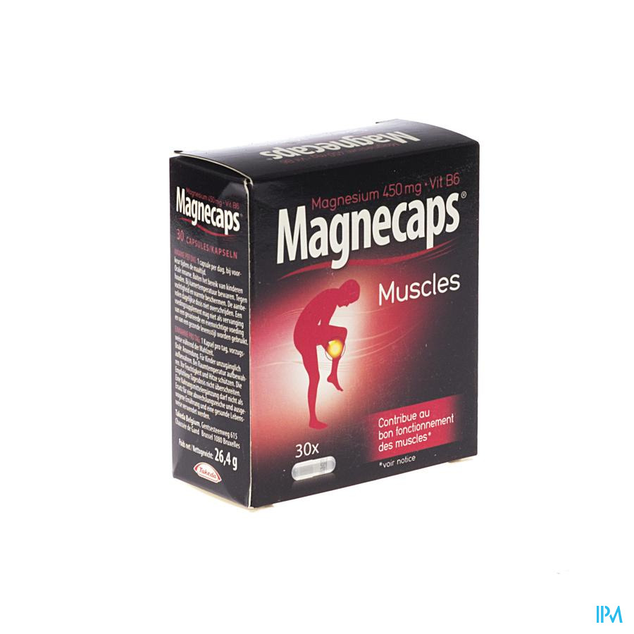 Magnecaps Crampes Musculaures Nf Caps 30