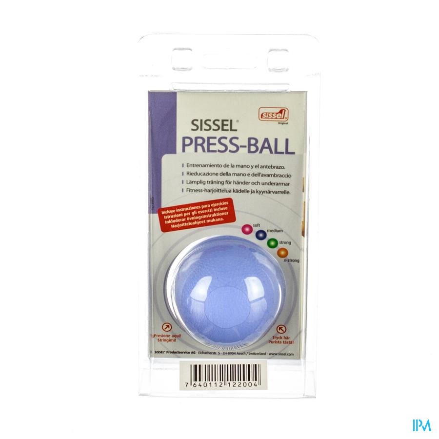Sissel Press Ball Medium Blauw