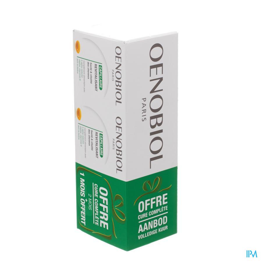 OENOBIOL HAAR KUUR REVITALISEREND 3X60 CAPS