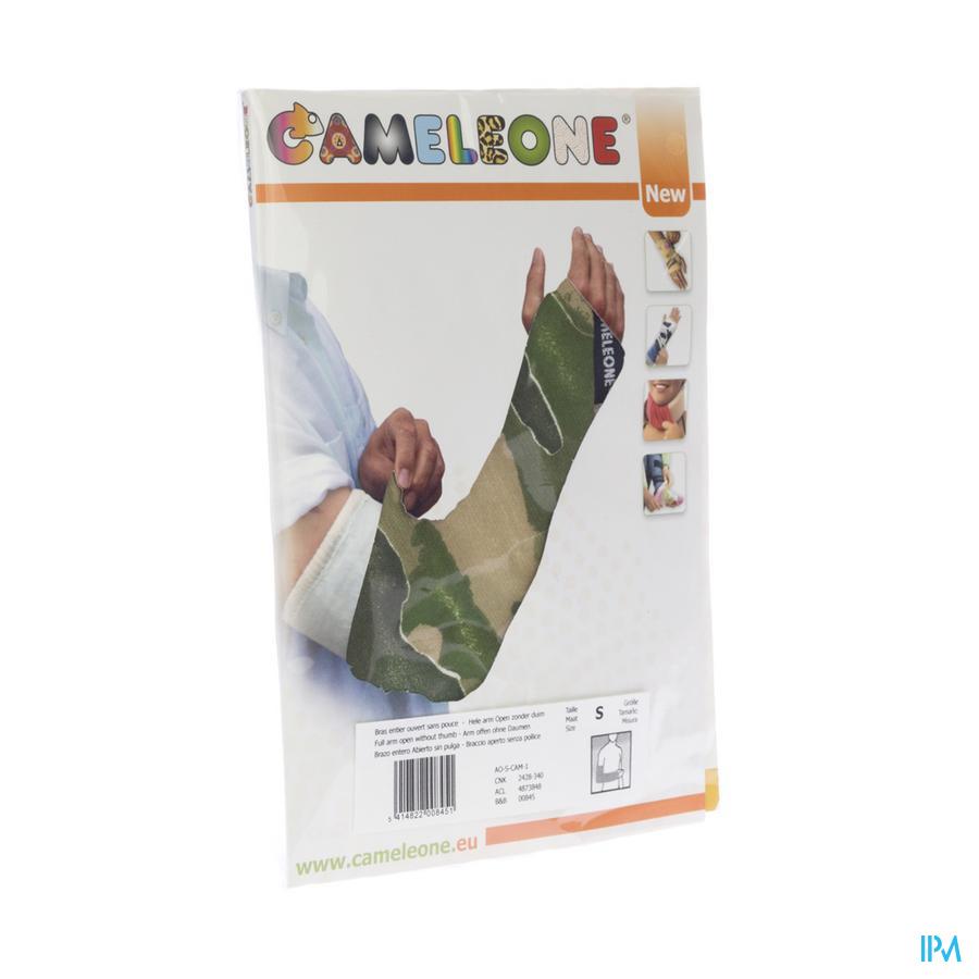 Cameleone Volledige Arm Open -duim Camouflage S 1