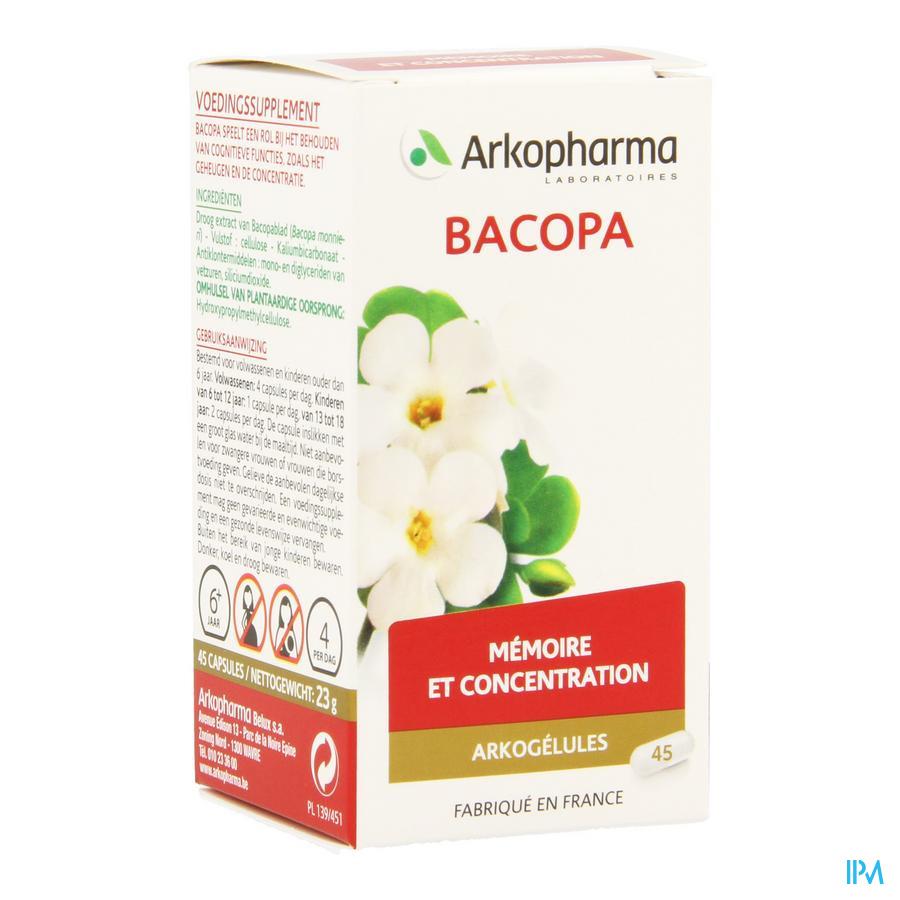 ArkoCapsule Bacopa Plantaardig 45