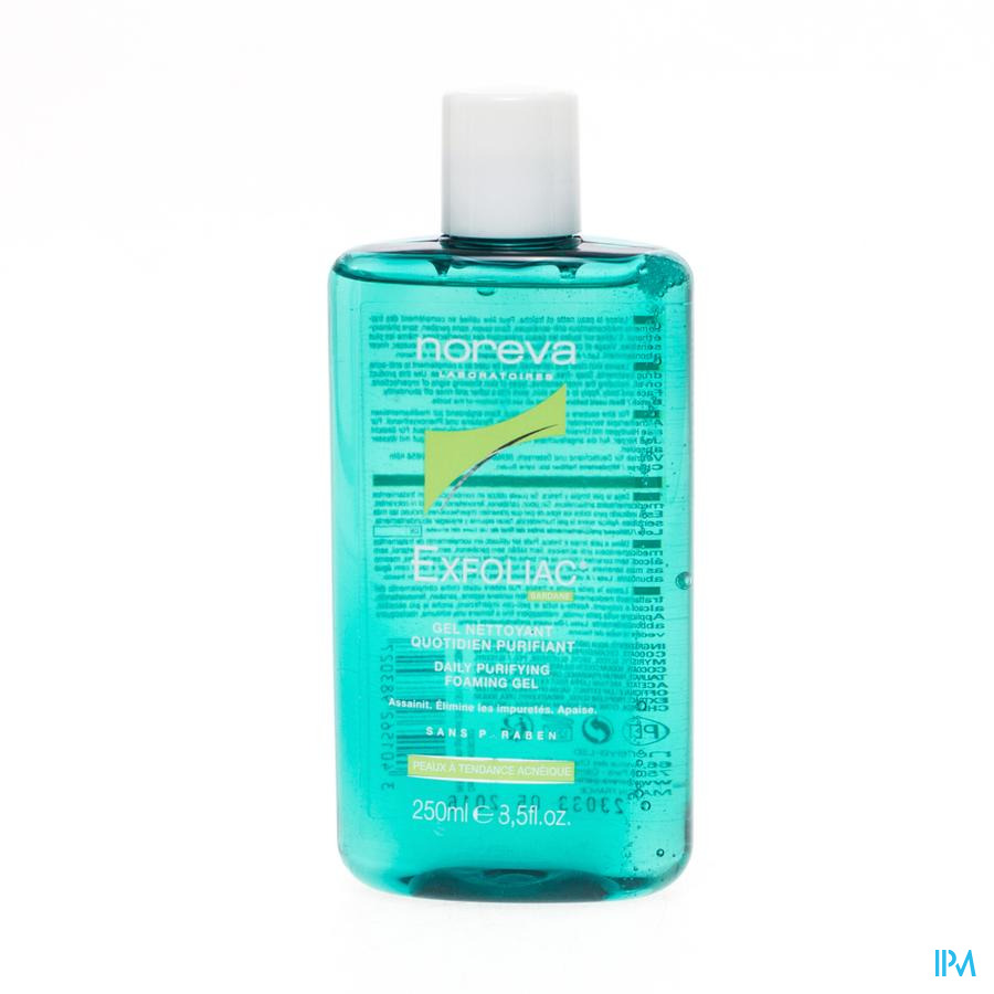 Exfoliac Reinigende Zuiverende Gel 250ml