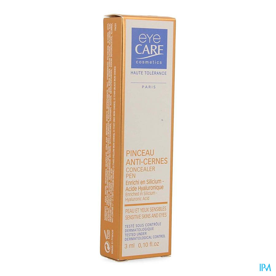 Eye Care Pinceau A/cernes Beige Clair 3ml