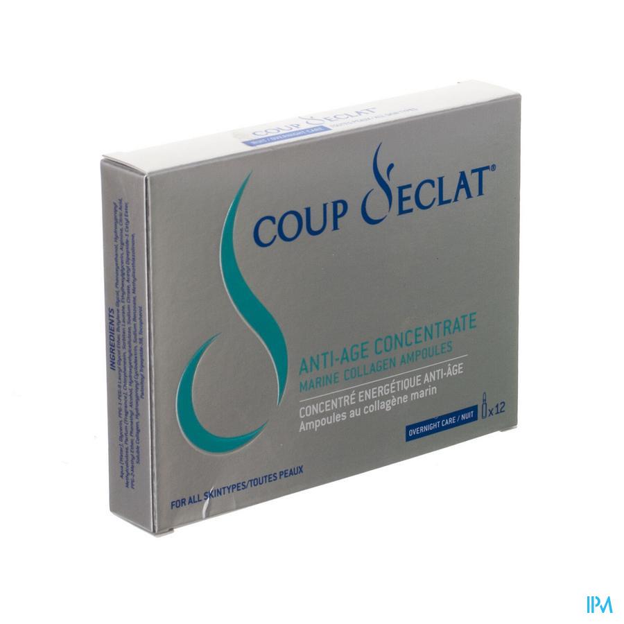 Coup D'eclat Concentre Energet. A/age Amp 12x1ml